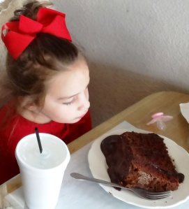 Yes! The dessert must be smaller than the child.