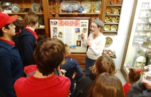 We were captivated by the Native American treasures.