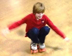 Bailey truly enjoyed skating.