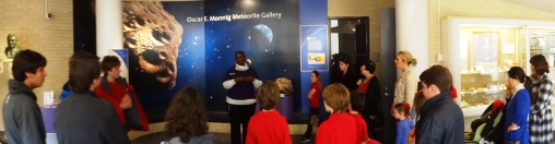 Our docent, Nona Batiste, was wonderful