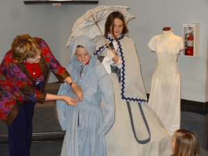We truly enjoyed learning about dress and attire of the old deep south.