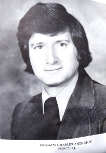 Dr. A in 1978 Principal at West Elementary