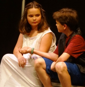 Another famous scene from The Tempest with Mary Alice & Lucas