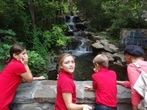 A good time was had by all at the beautiful Fort Worth Zoo.