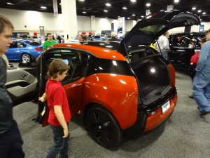 The BMW i3 was Dr. A's favorite.