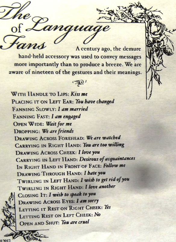 Language of FANS