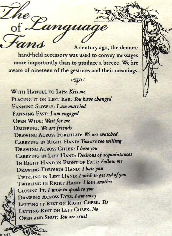 Language of FANS