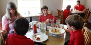 We enjoyed lunch at the Whistle Hill Cafe and a trip to