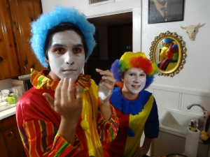 I cannot tell you who these Clowns are. Natalie and Jake would get very upset with me if I did.