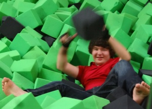 Alden is on an island of cubes.