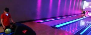 Ian enjoyed bowling.