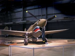 """Curtis P40"" by Greg Hume - Own work. Licensed under CC BY-SA 3.0 via Wikimedia Commons - https://commons.wikimedia.org/wiki/File:Curtis_P40.jpg#/media/File:Curtis_P40.jpg"