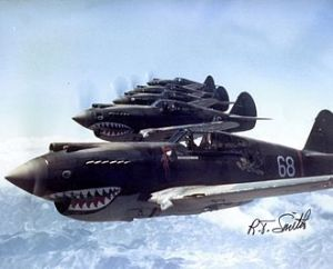 The famous Flying Tigers