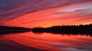 sunset-beltzville