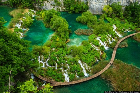 Caves and waterfalls