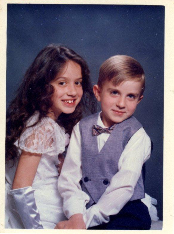 Annie & Alex ages 8 & 5 March 1992 JPEG 360089