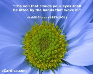 Kahlil Gibran (1883-1931).